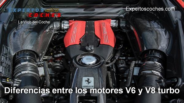diferencias entre los motores V6 y V8 turbo
