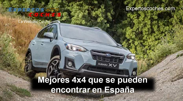 mejores coches 4x4 en España