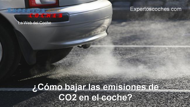 cómo bajar las emisiones de CO2 en el coche