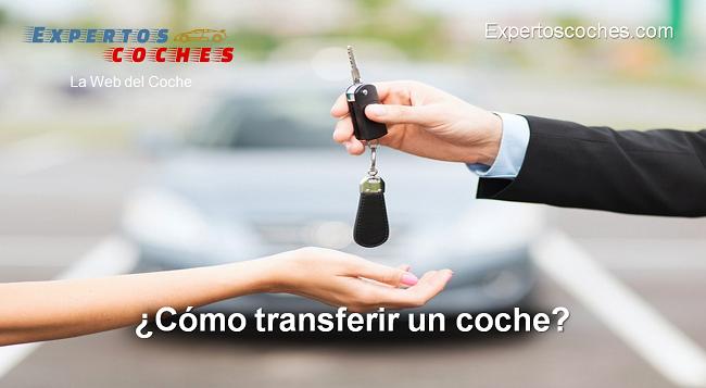 cómo transferir un coche
